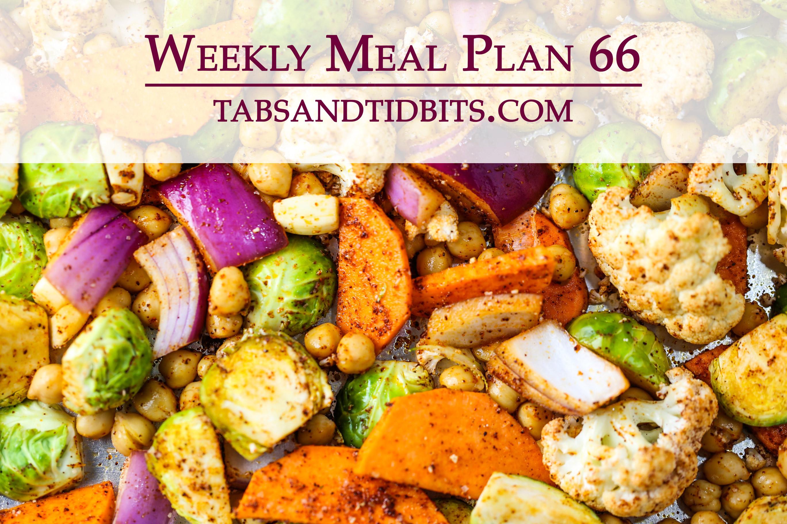 Vegetarian Weekly Plan!