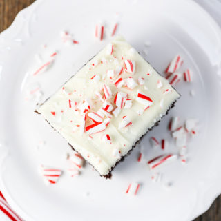 Chocolate Cream Cheese Peppermint Cake