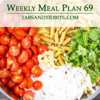 Vegetarian Weekly Meal Plan!