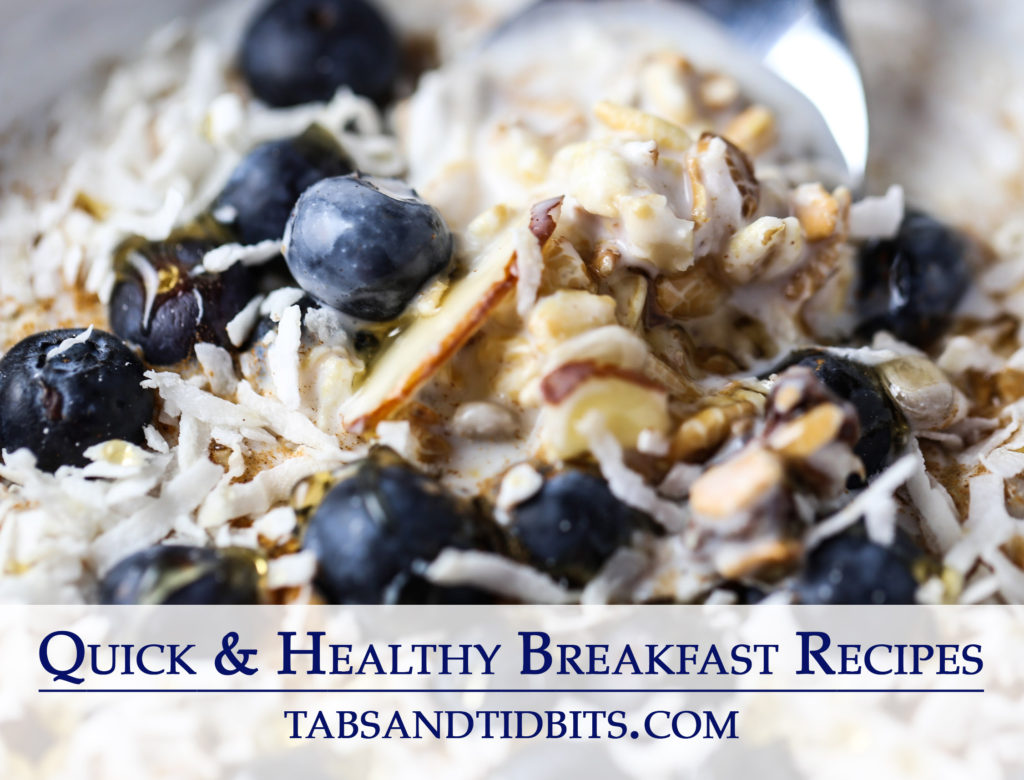 Healthy breakfast recipes for life on the go!
