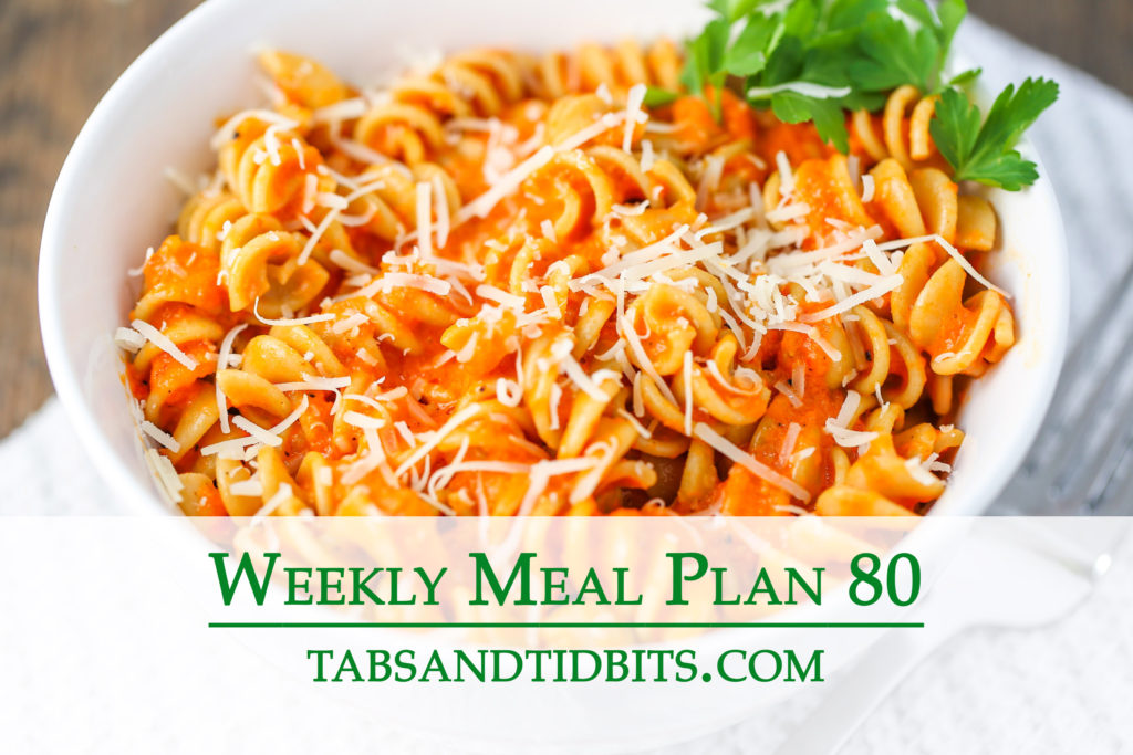 Vegetarian weekly meal plan full of delicious & easy to make dinners!